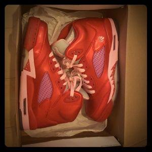 AIR JORDAN.5 retro gym red/ion pink